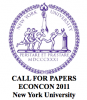 EconCon 2011 Conference