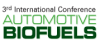 3rd Annual International Conference Automotive Biofuels