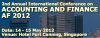 2nd Annual International Conference on Accounting and Finance (AF 2012)