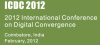 International Conference on Digital Convergence - ICDC 2012