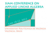 SIAM Conference on Applied Linear Algebra - LA12