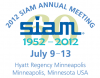 2012 SIAM Annual Meeting - AN12