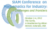 SIAM Conference on Mathematics for Industry - MI12