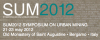 SUM 2012 - Symposium on Urban Mining