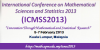 International Conference on Mathematical Sciences and Statistics