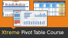 Excel - Pivot Tables 101