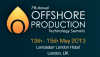Offshore Production Technology Summit 2013