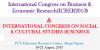 International Congress on Social & Cultural Studies (ICSCS2013)