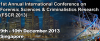 1st Annual International Conference on Forensic Science & Criminalistic Research (FSCR 2013)